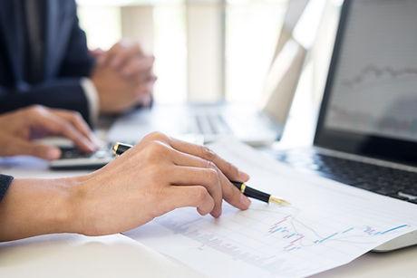 Business Team trader or broker Investmen