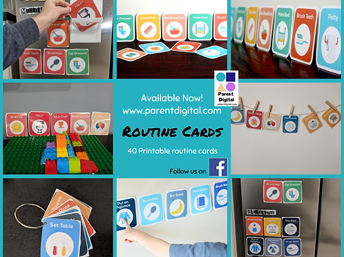 40 Routine Cards