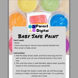 Babies First Paint.