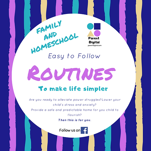 Family and Homeschooling Routines