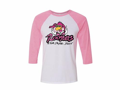Breast Cancer Awareness Baseball Tee