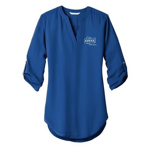 Ladies 3/4-Sleeve Tunic Blouse LW701