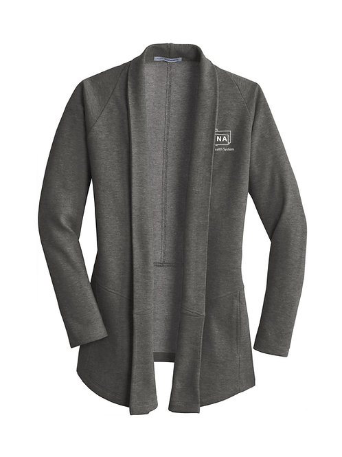 Ladies Interlock Cardigan L807