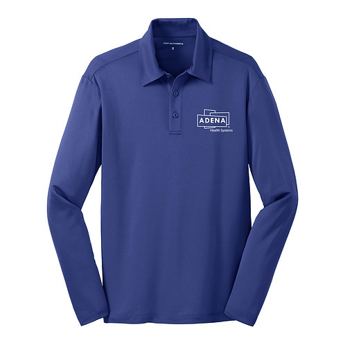 Silk Touch Performance Long Sleeve Polo K540LS