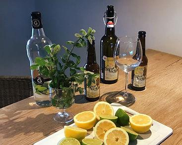 Cocktail à la bière de Nages