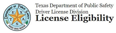 Texas DPS License Eligibility