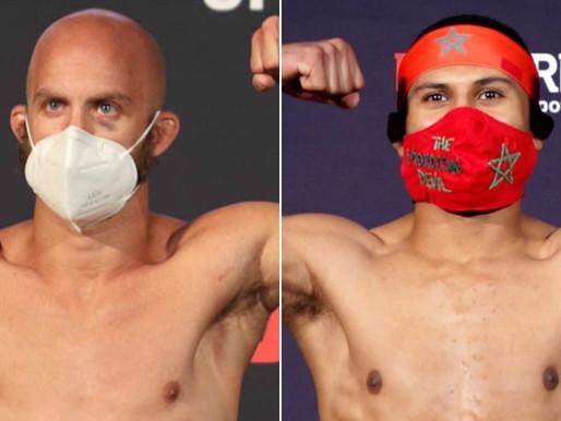 Team Iridium duo of Jaynes & Zalal back in the Octagon at #UFCVegas6 on Saturday