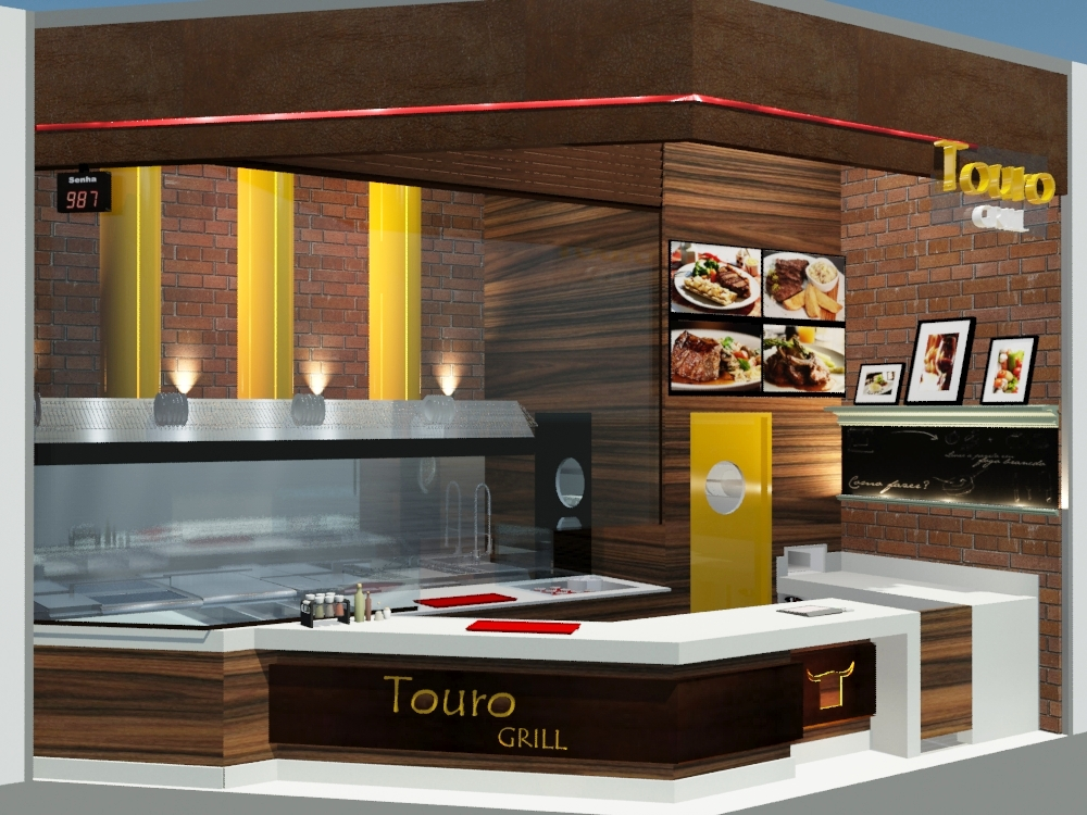 Touro Grill, Arquitetura