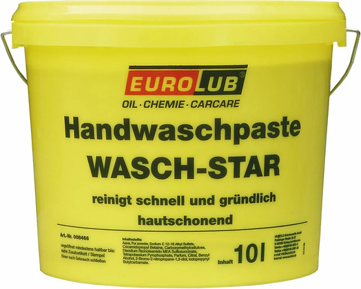 Паста для рук EUROLUB Hand Wash Paste WASCH-STAR 10L