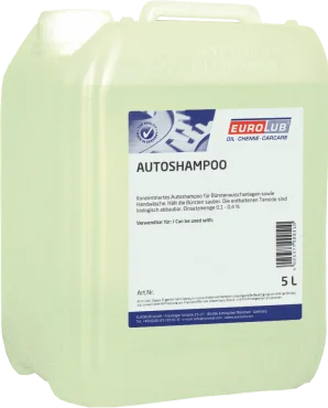 Автошампунь концентрований EUROLUB Autoshampoo