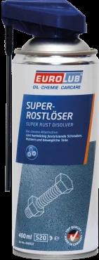 Змазка проникаюча (рідкий ключ) EUROLUB Super Rust Remover 400 ml
