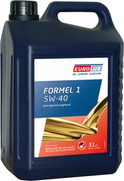Масло моторне синтетичне EUROLUB Engine Oil FORMEL 1 SAE 5W/40