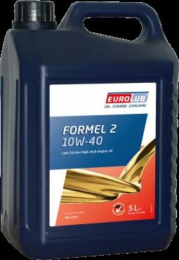 Масло моторне напівсинтетичне EUROLUB FORMEL 2 SAE 10W/40 Engine Oil