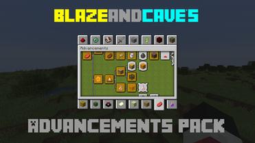 BlazeandCave's Advancements Pack