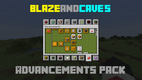 BlazeandCave's Advancements Pack