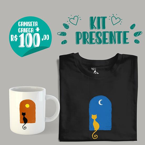 Kit Presente Gato Enamorado
