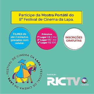 Mostra Portátil Festival de cinema da Lapa