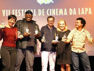 Vencedores do VII Festival de Cinema da Lapa