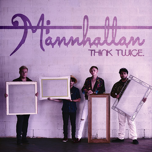 CD Digipack - Think Twice (Mannhattan)