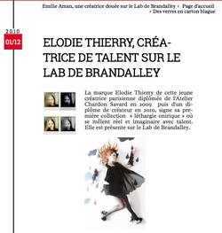 Conseil en image - Presse -Brandaley