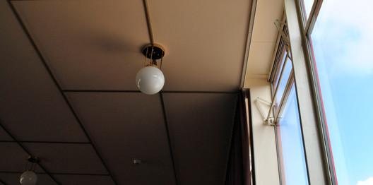Detail van Villa Jongerius. Nieuwe Zakelijkheid meets art deco.