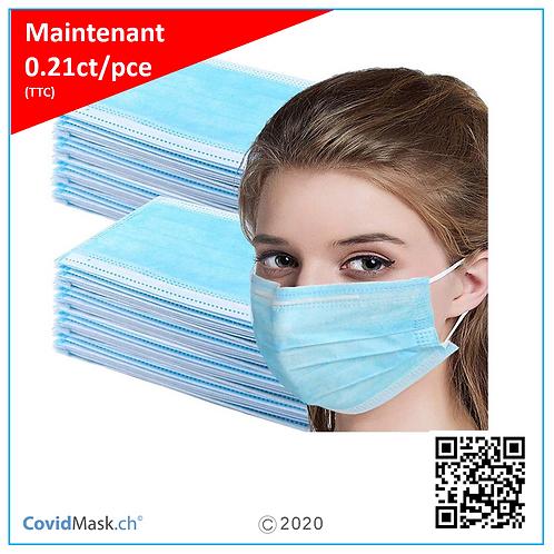 Masques de protection individuel (20 unités), GB/T 32610-2