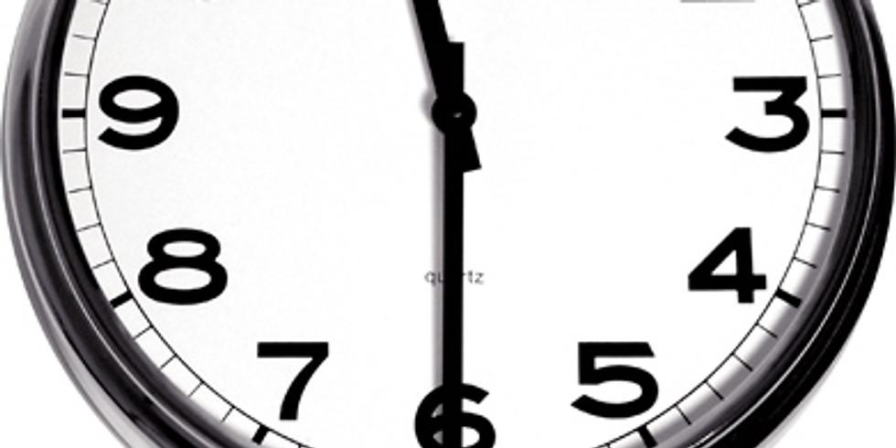 Worship Service Time Change