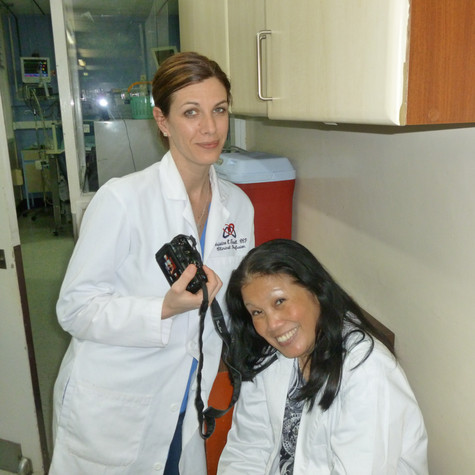 Christine Farrell, CCP & Anna Judilla, R.N.