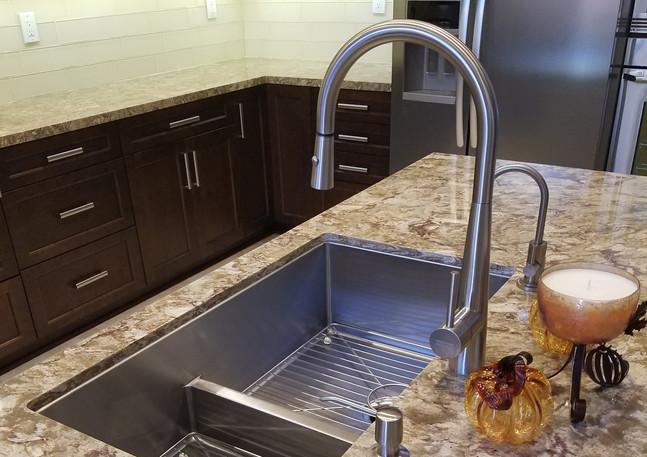 Modern Island Sink