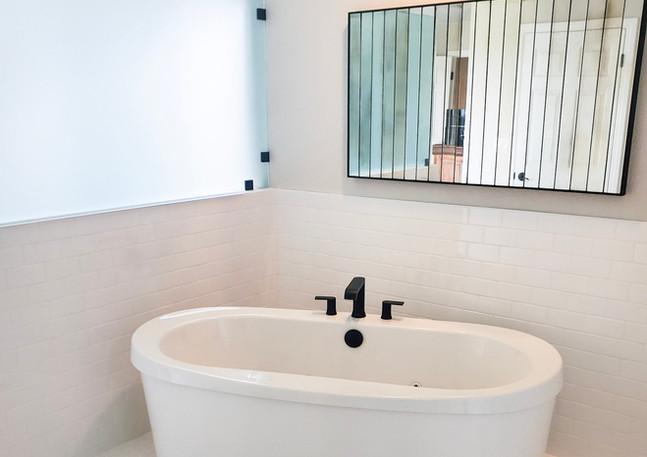 Spacious Bath