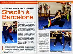 shaolin à Barcelone