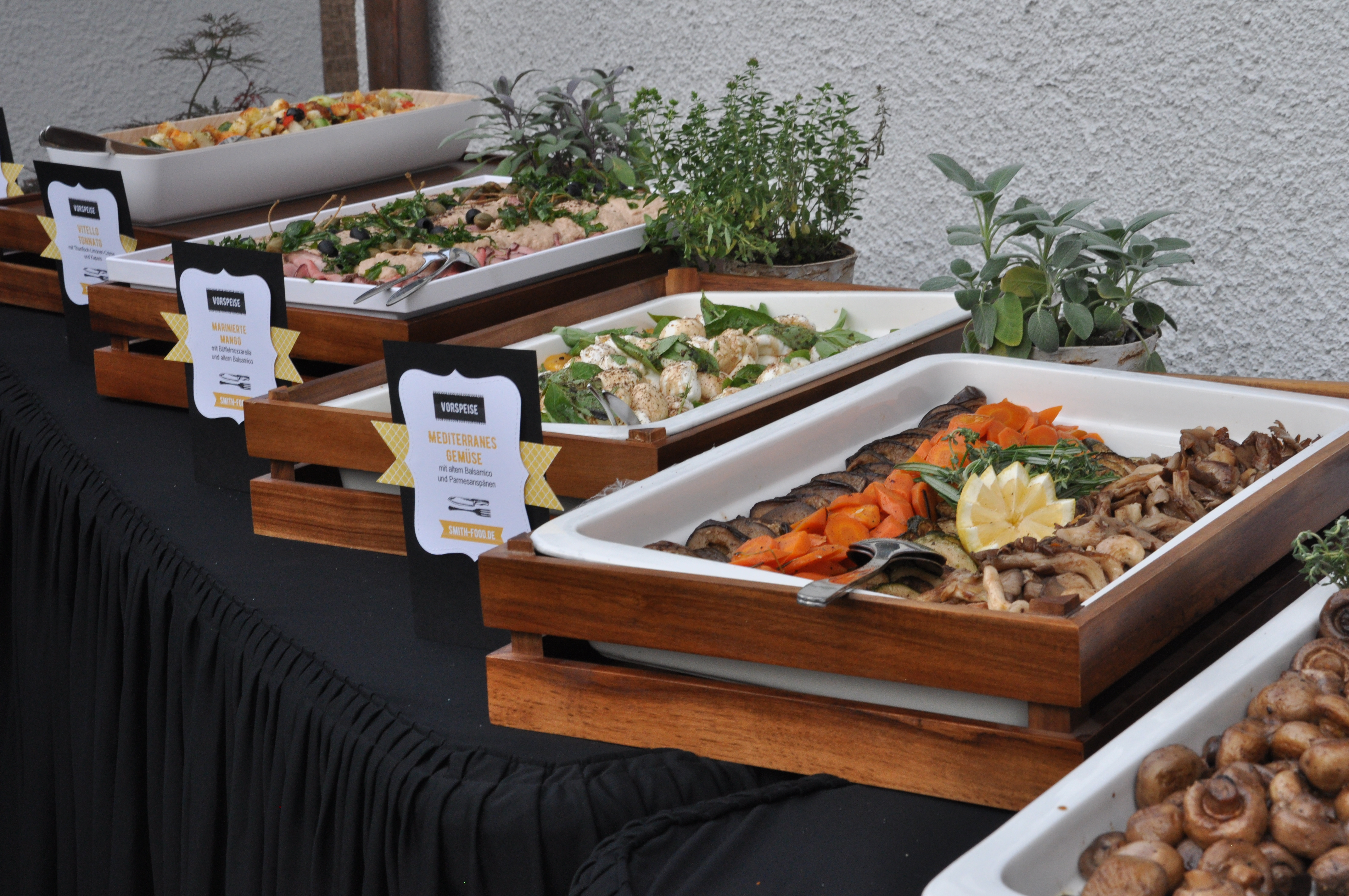 Catering Gartenparty