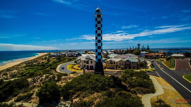 Fantastic Bunbury lighthouse!!#bunbury #southwestlife #westernaustralia #wa #lighthouse #djiglobal #