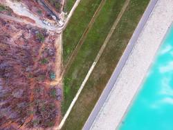 Logue Brook Dam wall #loguebrook #loguebrookdam #yarloop #yarloopfire #yarloopbushfires #harvey #dji