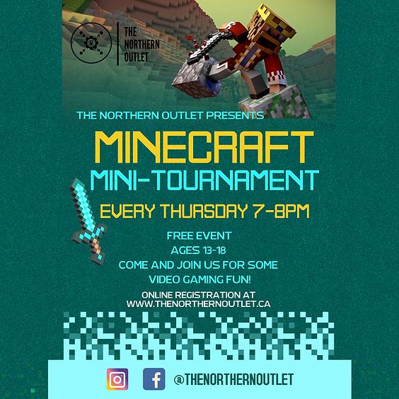 Weekly Minecraft Mini-Tournament