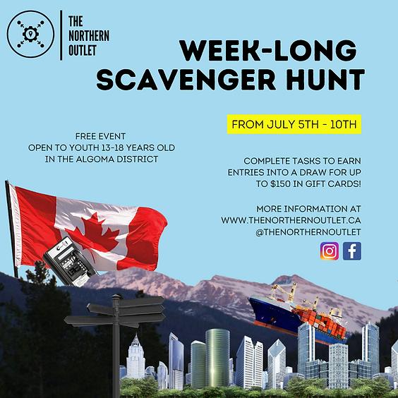 Week-Long Scavenger Hunt