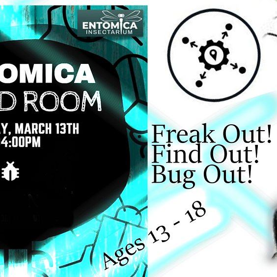 Entomica Insectarium Bored Room / Salle Virtuelle
