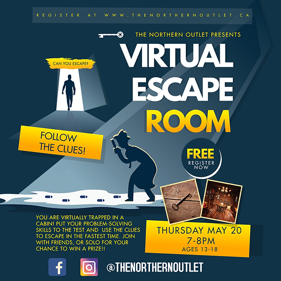 The Great Escape! Virtual Escape Room