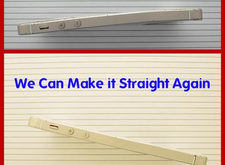 We Fix Bent Frame on iPhones