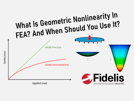 What Is Nonlinear Geometry In FEA? And When Should You Use It?