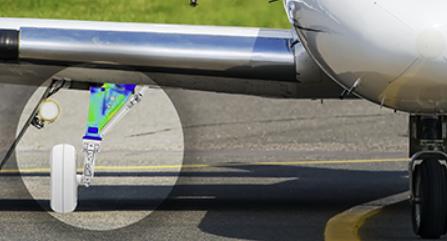 Abaqus landing gear model