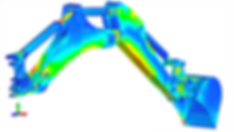 Finite element analysis of articulated arm