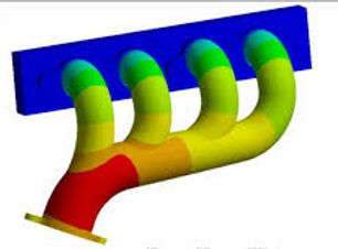 Thermal Analysis of Muffler in ABAQUS