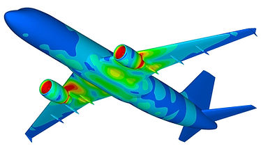 FEA of an Airbus A320