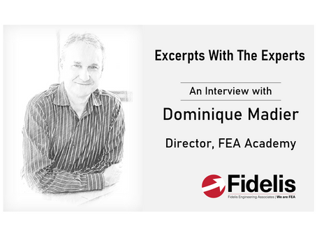 Fidelis' Excerpts With The Experts - Dominique Madier of FEA Academy