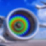 Jet engine finite elment analysis