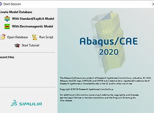 ABAQUS CAE 2020