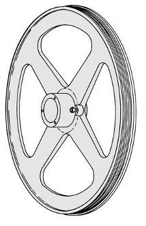 Biro Upper Wheel