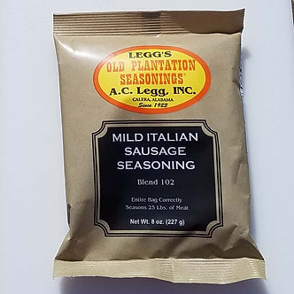 Legg's Blend #102 Mild Italian Sausage (Qty. 6) $4.09 ea.