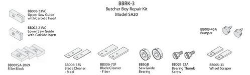 Butcher Boy Repair Kit #3